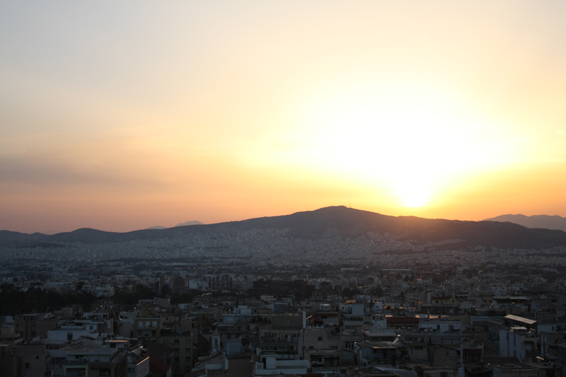 sunset-over-athens
